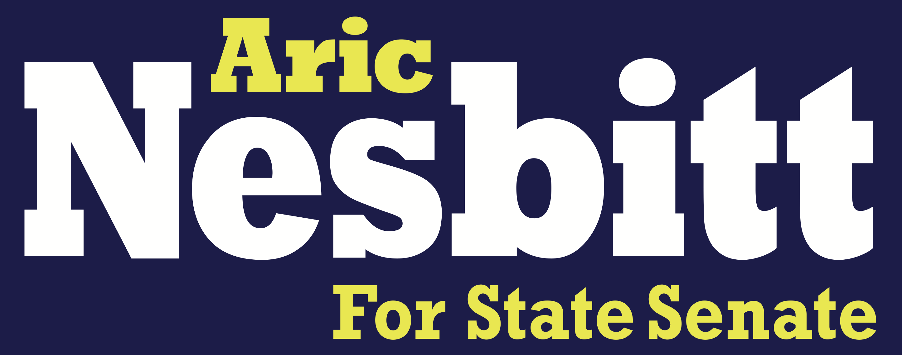 Aric Nesbitt for State Senate